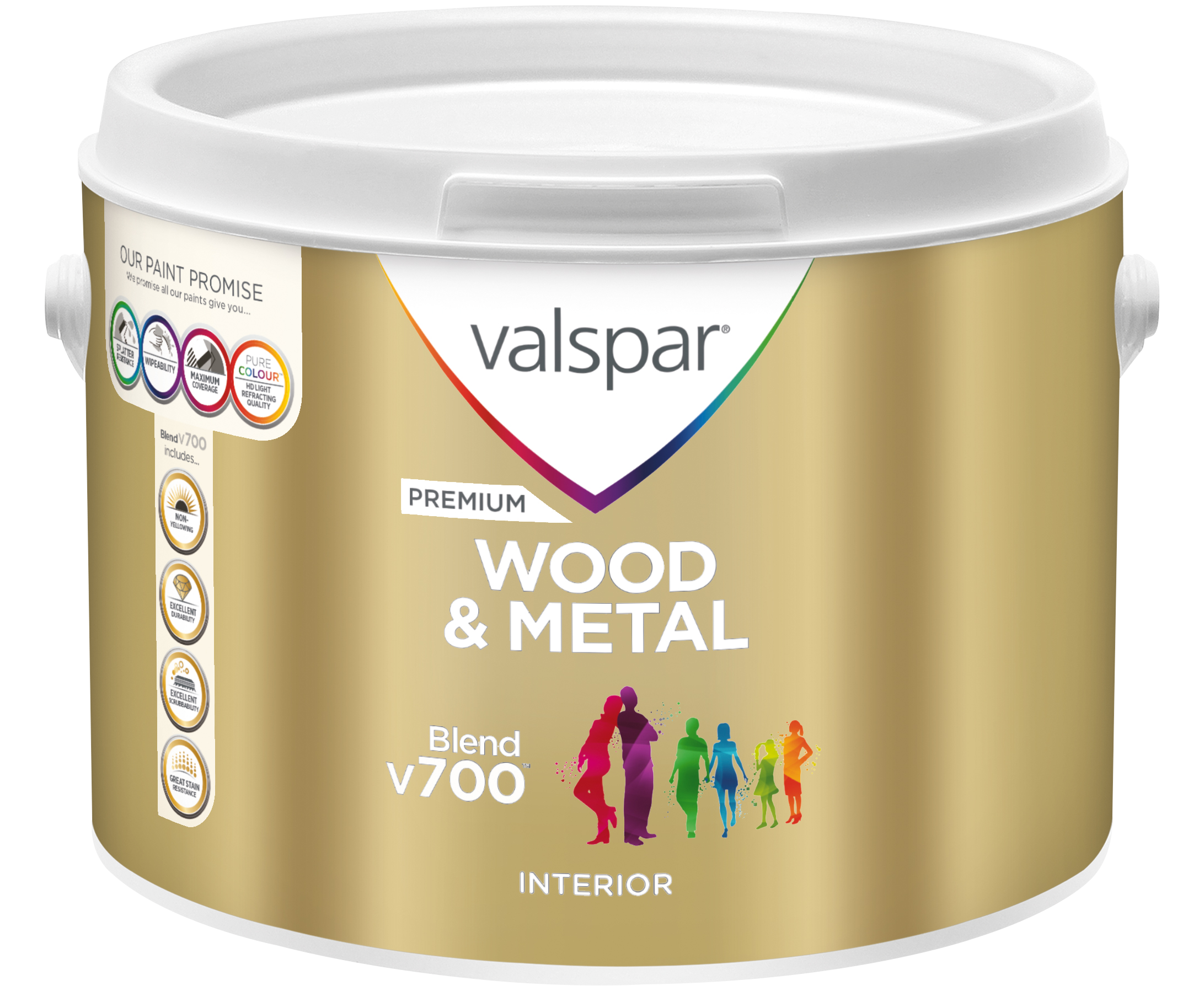 Premium Blend V700 Wood Metal Paint | Valspar Paint UK