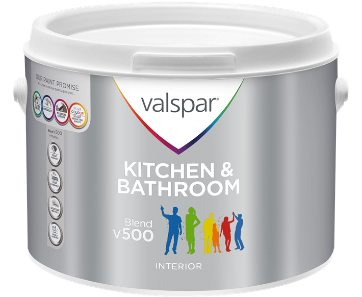 Blend V Kitchen Bathroom Paints Valspar Paint UK - Valspar bathroom paint