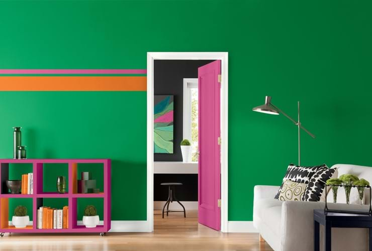 Colour trends: clashing colours