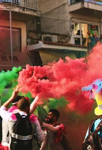Colour trends: Festival of Colour: the story of Holi