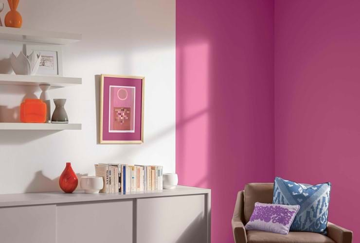 Five reasons to decorate with pink